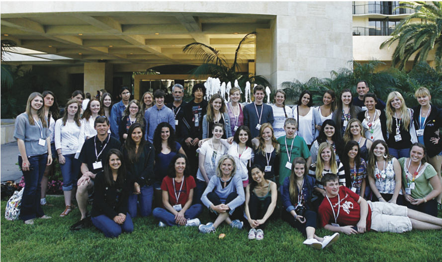 Journalism and Yearbook Students Attend JEA/NSPA Conference