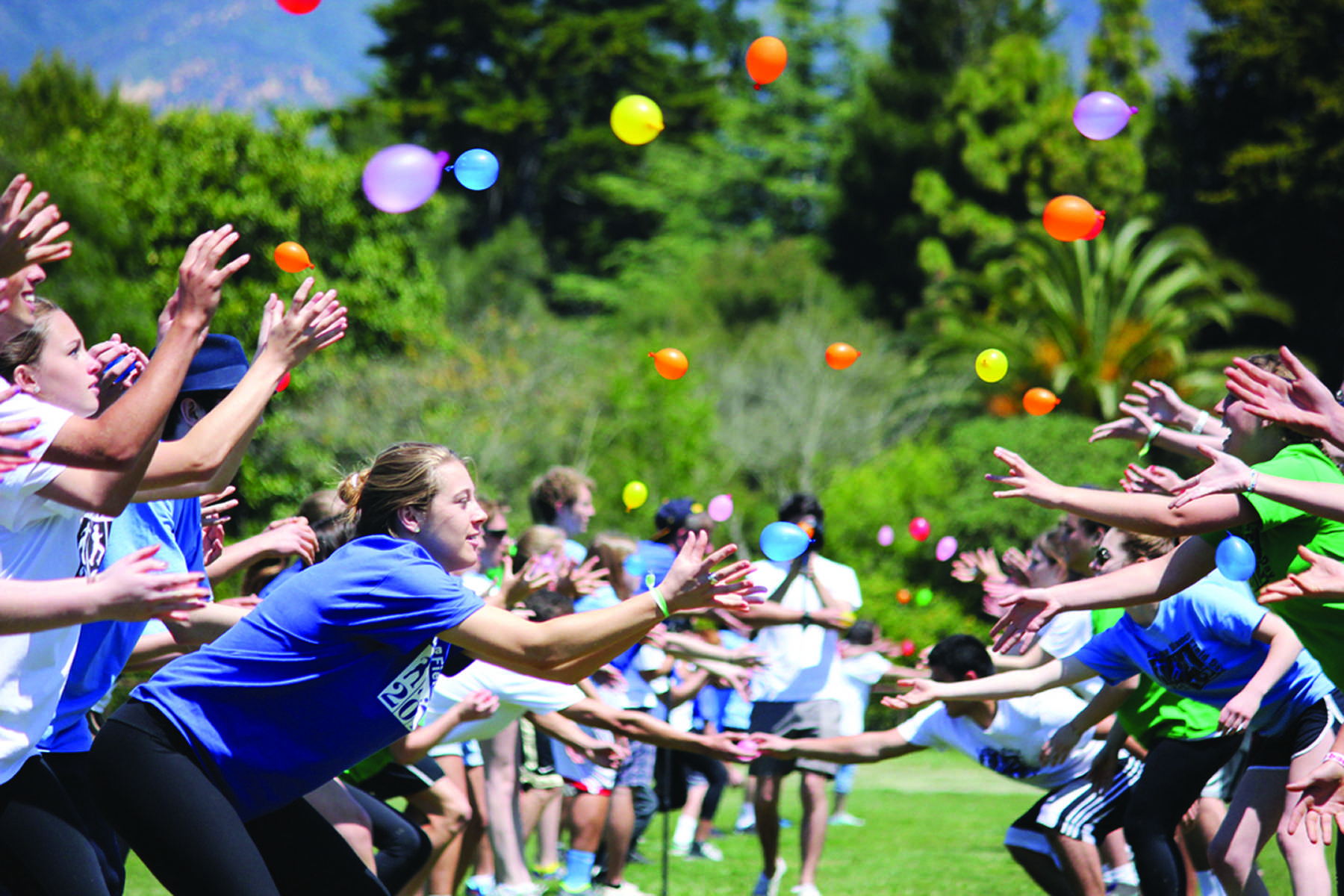 Upper School Catches Field Day Fever