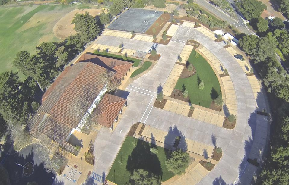 New Parking Plaza Enhances Hope Ranch Campus