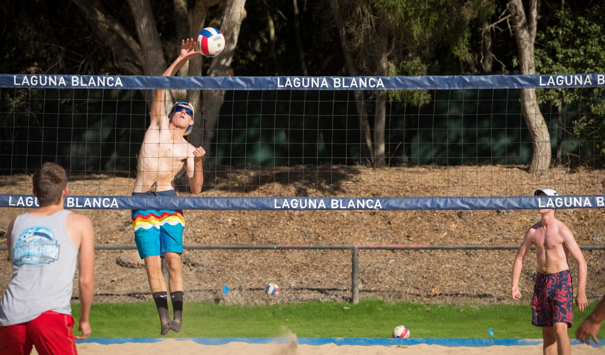 Owls Dig in at New On-Campus Sand Volleyball Courts