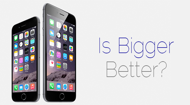 Is bigger better? A Review of the iPhone 6
