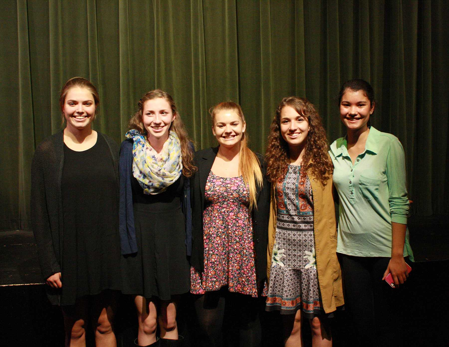 Students Participate in Optimist Club  Speech Competition