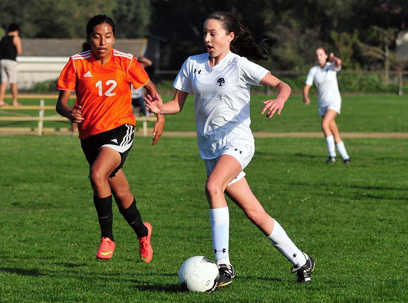 Kelly Bickett's Hat Trick Carries Girls Soccer Team Forward