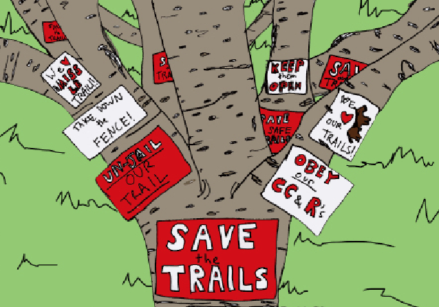 Save the Trails: Hope Ranch's Protest