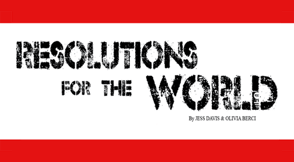 Resolutions For the World