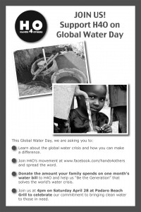 H4O Launches Global Water Day Campaign