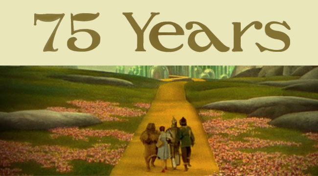The Wizard of Oz Turns 75
