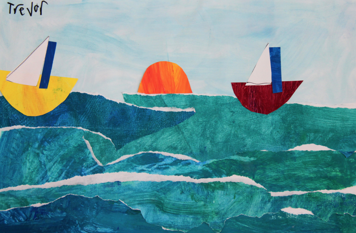Pieces From the Lower School Art Show