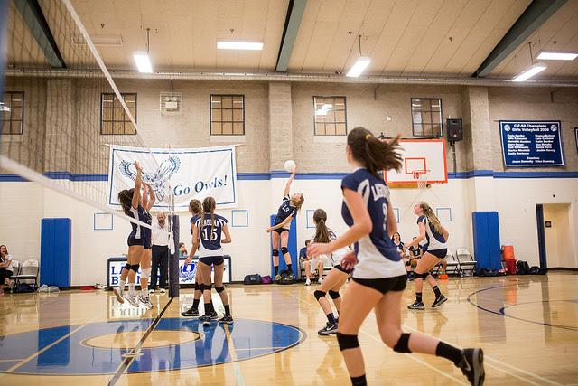 Girls Volleyball Wins First Round of State Playoffs