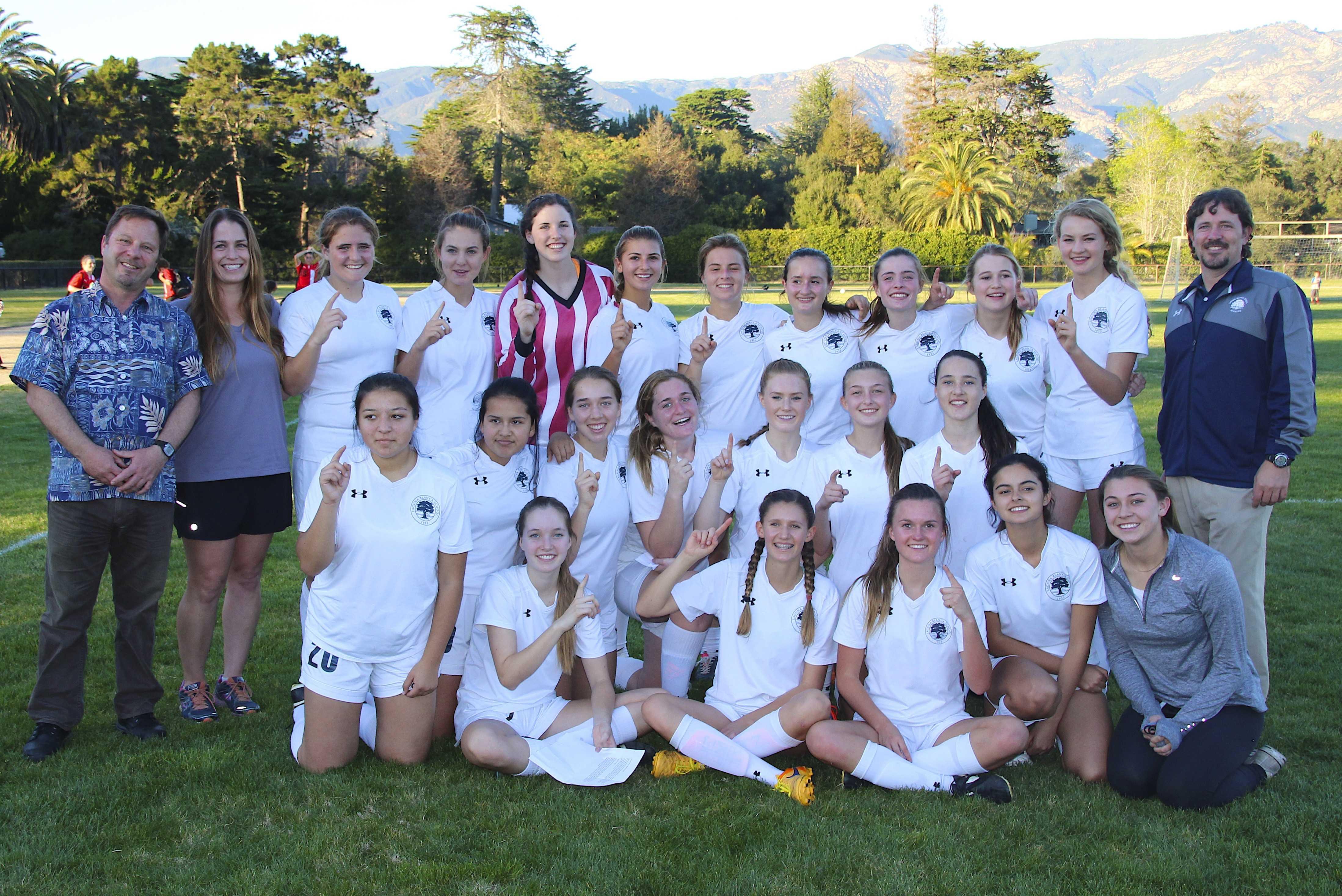 Girls Soccer Team Takes the Condor League Title