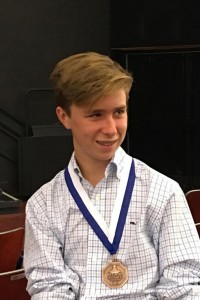 Jack Moller Wins Third Place in Optimist Oratorical Contest