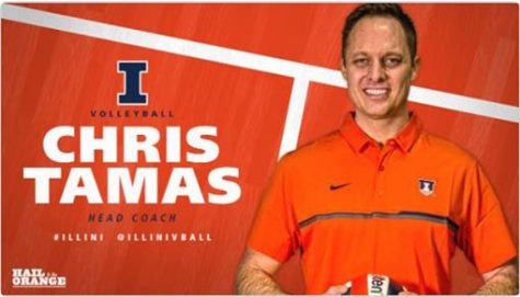 Chris Tamas Named Head Women's Volleyball Coach