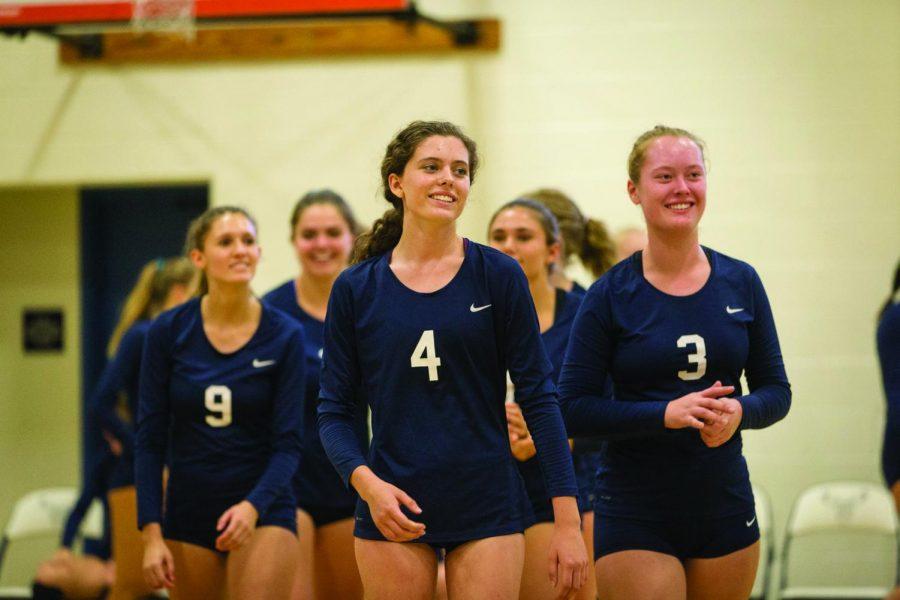 Girls Volleyball Fall Recap