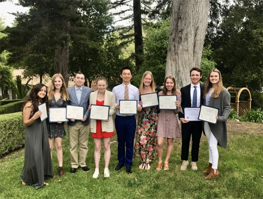 2018 Cum Laude Society Inductees