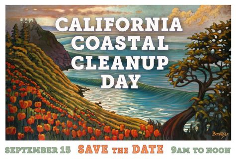 Please join us! Saturday, September 15 - California Coastal Cleanup Day