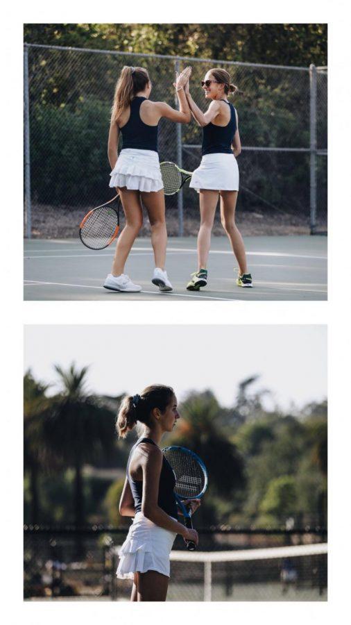 Laguna Blanca Girls Tennis 2018