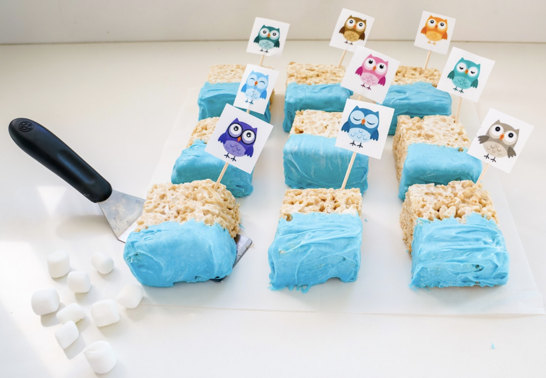 Go Owls Rice Krispies