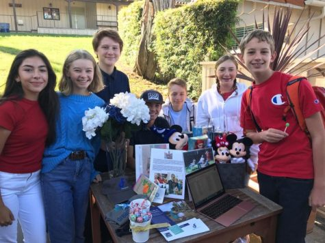 Students Run Booths at Club Fair