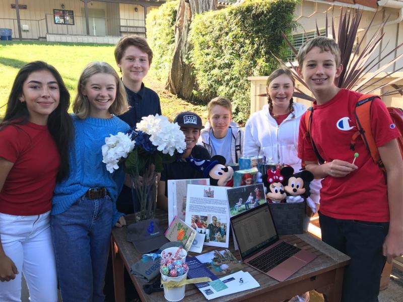 Students Run Booths at Club Fair