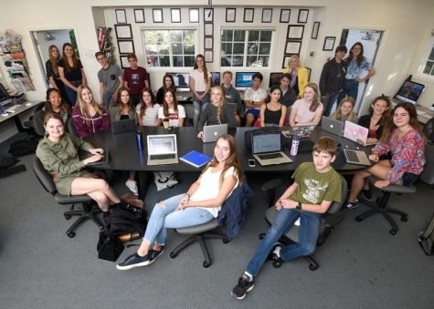 LAGUNA STUDENT PUBLICATION THE FOURTH ESTATE MAKES SCHOOL HISTORY
