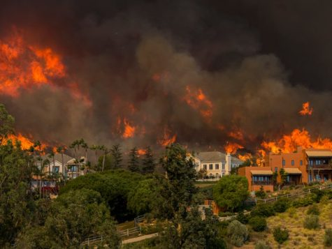 Fire Ravaging Southern California