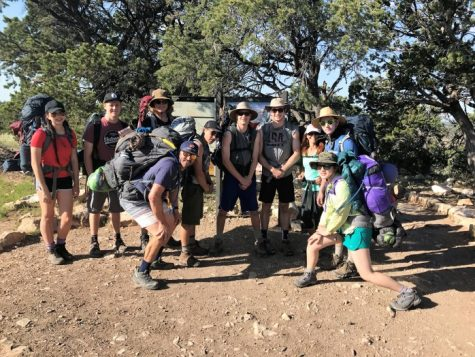 Backcountry Wilderness First Responders class this summer with Cate School