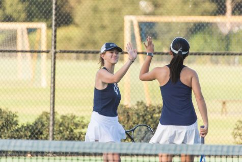 Tennis Teams Prepare for League Games