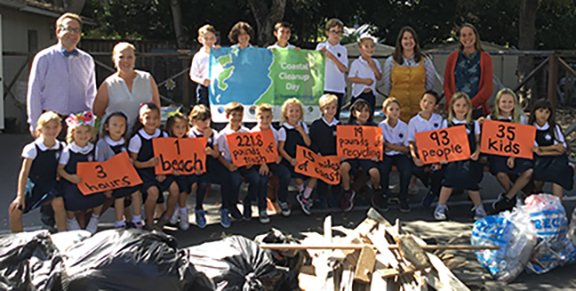 California Coastal CleanUp Day Results