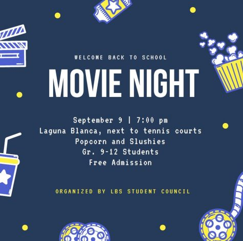 Welcome Back to School Movie Night