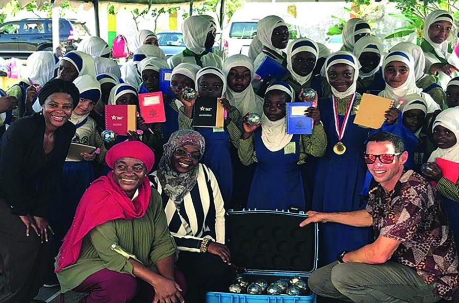 STEM+Instructor+Zack+Moore+Returns+from+Africa
