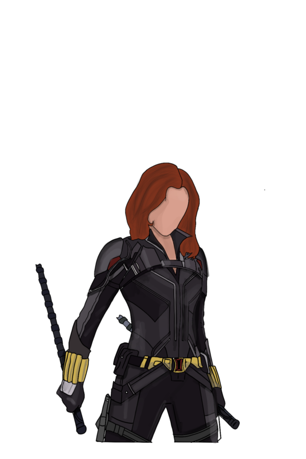 """Black Widow from the upcoming movie, """"Black Widow"""""""