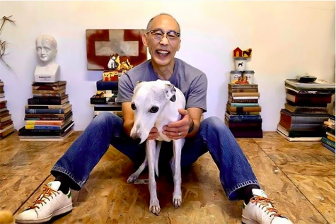 An Artist and His Dog