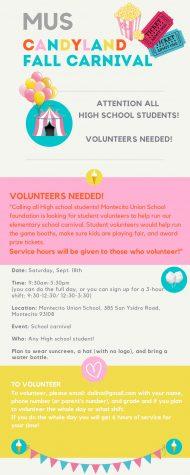 MUS Carnival Volunteers Needed