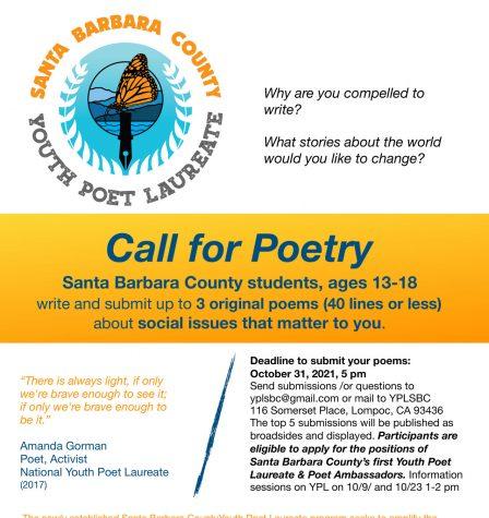 Santa Barbara County Youth Poet Laureate